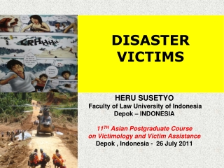 DISASTER  VICTIMS