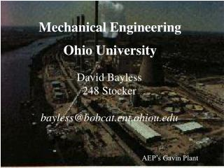 Mechanical Engineering Ohio University