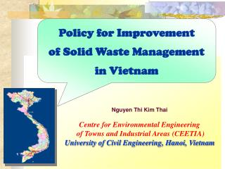 Policy for Improvement of Solid Waste Management in Vietnam