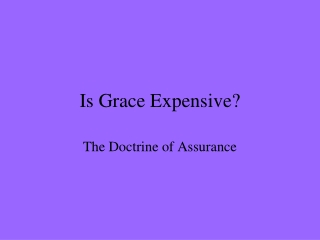 Is Grace Expensive?