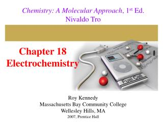 Chapter 18 Electrochemistry