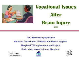 This Presentation prepared by Maryland Department of Health and Mental Hygiene