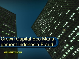 Mendeley group - Crown Capital Eco Management Indonesia Frau