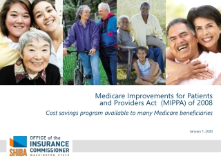 Medicare Improvements for Patients  and Providers Act  (MIPPA) of 2008
