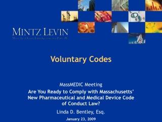 Voluntary Codes
