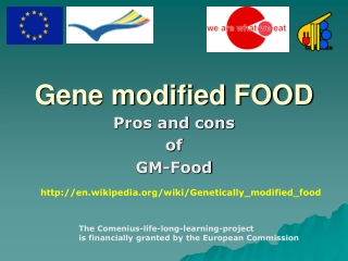 Gene modified FOOD