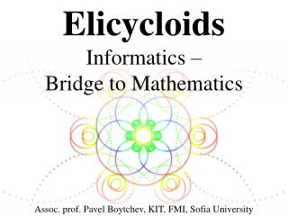 Elicycloids Informatics  – Bridge to Mathematics