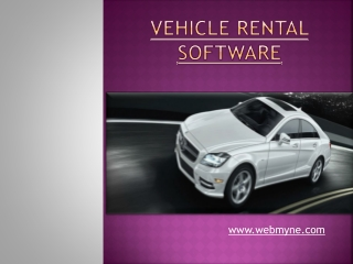 Car rental programs