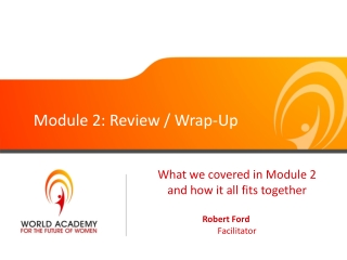 Module 2: Review / Wrap-Up