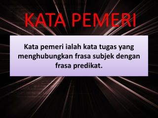 Kata Pemeri