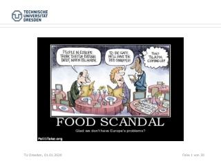 FOOD SCANDALS