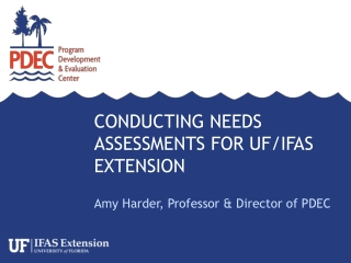 Conducting Needs Assessments for UF/IFAS Extension