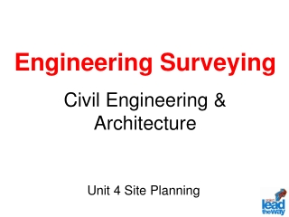 Engineering Surveying Civil Engineering & Architecture