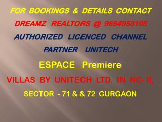VILLAS IN GURGAON