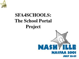 SFA4SCHOOLS: The School Portal Project