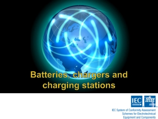 Batteries, chargers and charging stations