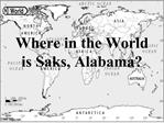 Where in the World is Saks, Alabama