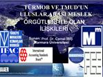 Sunan: Prof. Dr. Cemal IBIS Marmara  niversitesi