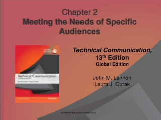 Chapter  2 Meeting the Needs of Specific Audiences