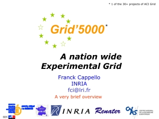 A nation wide Experimental Grid