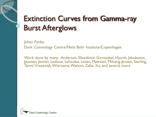 Extinction Curves from Gamma-ray Burst Afterglows
