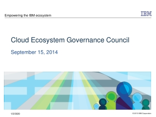 Empowering the IBM ecosystem