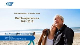 Cost transparency of pension funds Dutch experiences 2011-2018