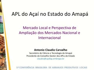 APL do A a  no Estado do Amap