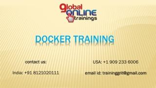 Docker Training | Docker online Training
