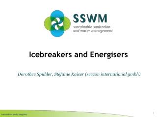 Icebreakers and Energisers