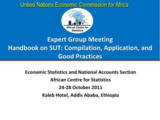 Expert Group Meeting  Handbook on SUT: Compilation, Application, and Good Practices