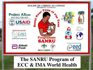 The SANRU Program of ECC & IMA World Health