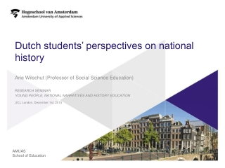 Dutch students' perspectives on national history