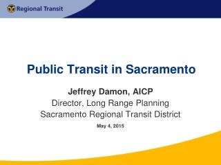 Public Transit in Sacramento