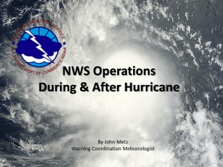 NWS Operations During & After Hurricane