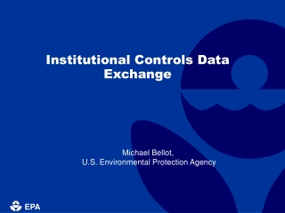 Institutional Controls Data Exchange