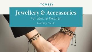 Shop Best Men's Designer Jewellery - Tomsey