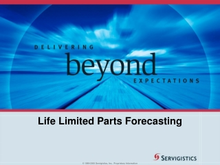 Life Limited Parts Forecasting