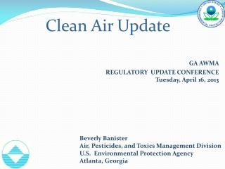 Clean Air Update