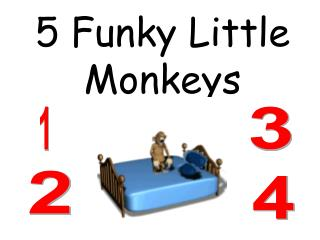 5 Funky Little Monkeys