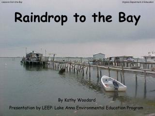 Raindrop to the Bay