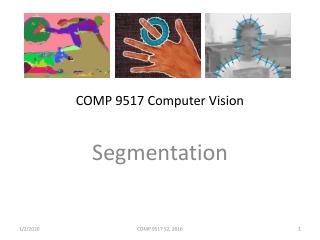 COMP 9517 Computer Vision