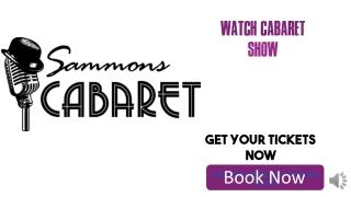 Cheap Cabaret Tickets