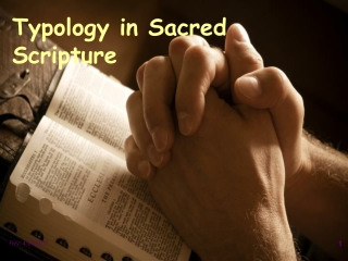 Typology in Sacred Scripture