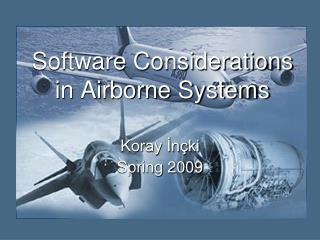 Software Considerations in Airborne Systems