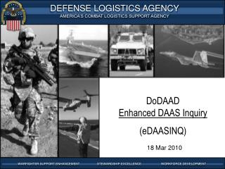 DoDAAD Enhanced DAAS Inquiry (eDAASINQ)