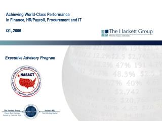 Achieving World-Class Performance  in Finance, HR/Payroll, Procurement and IT Q1, 2006