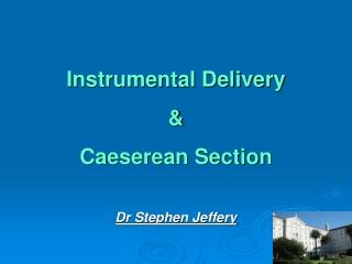 Dr Stephen Jeffery