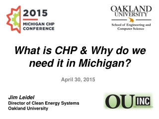 What is CHP & Why do we need it in Michigan?