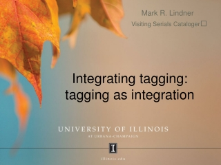 Integrating tagging: tagging as integration